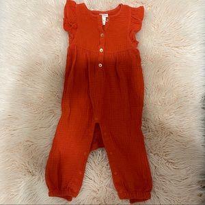 Cat & Jack Baby Girls Romper Size 18 Month